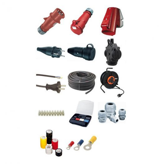 Diverse elektro componenten