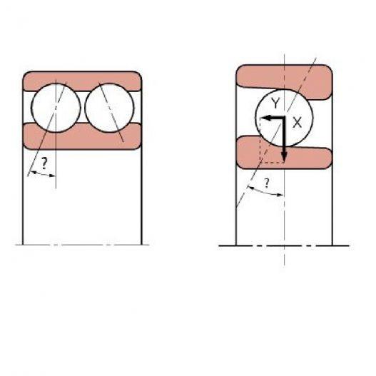 Hoekcontactlagers