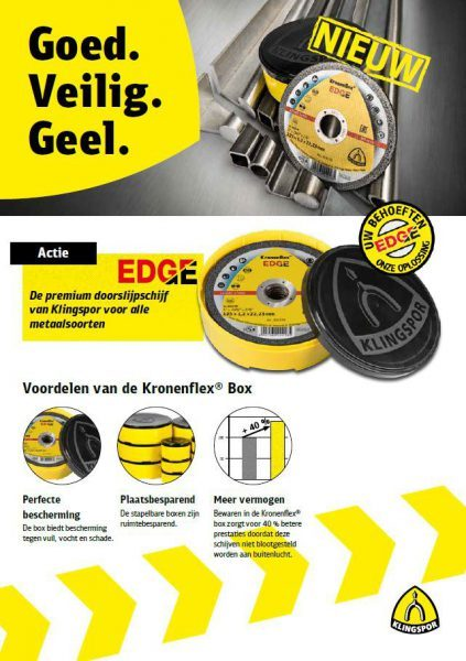 Klingspor - Nieuw Kronenflex EDGE
